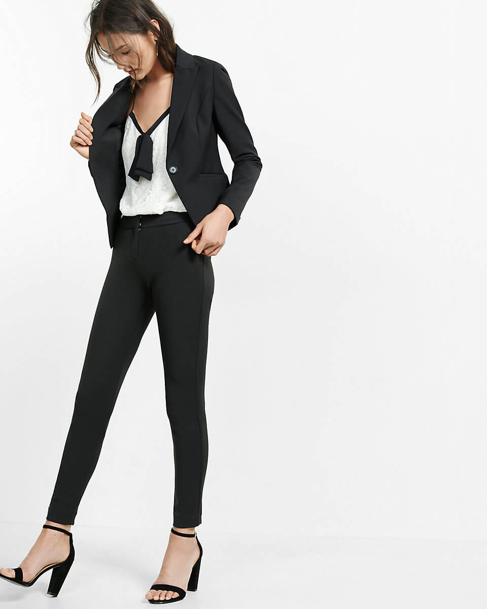 A formal blazer and a trouser