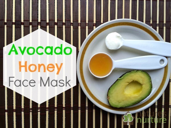 Avocado and honey face mask (homemade recipe)
