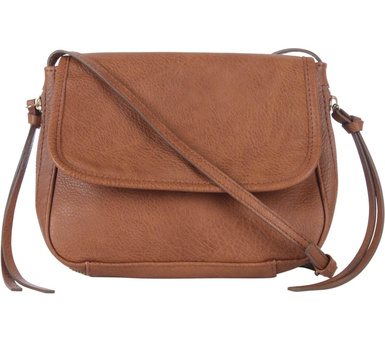 A crossbody bag