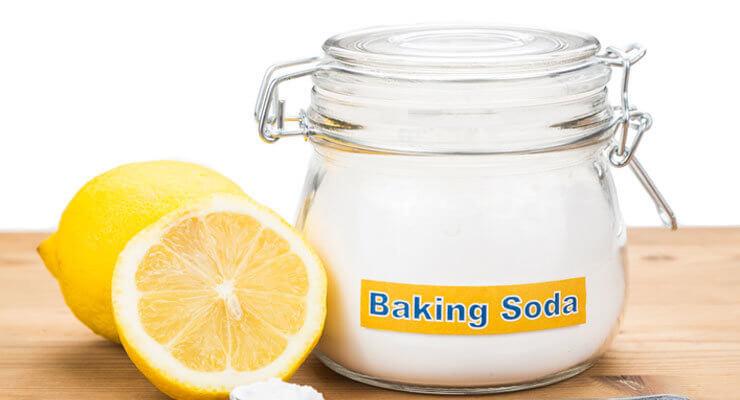 Baking soda and Lemon juice to lighten dark armpits, elbows and knees