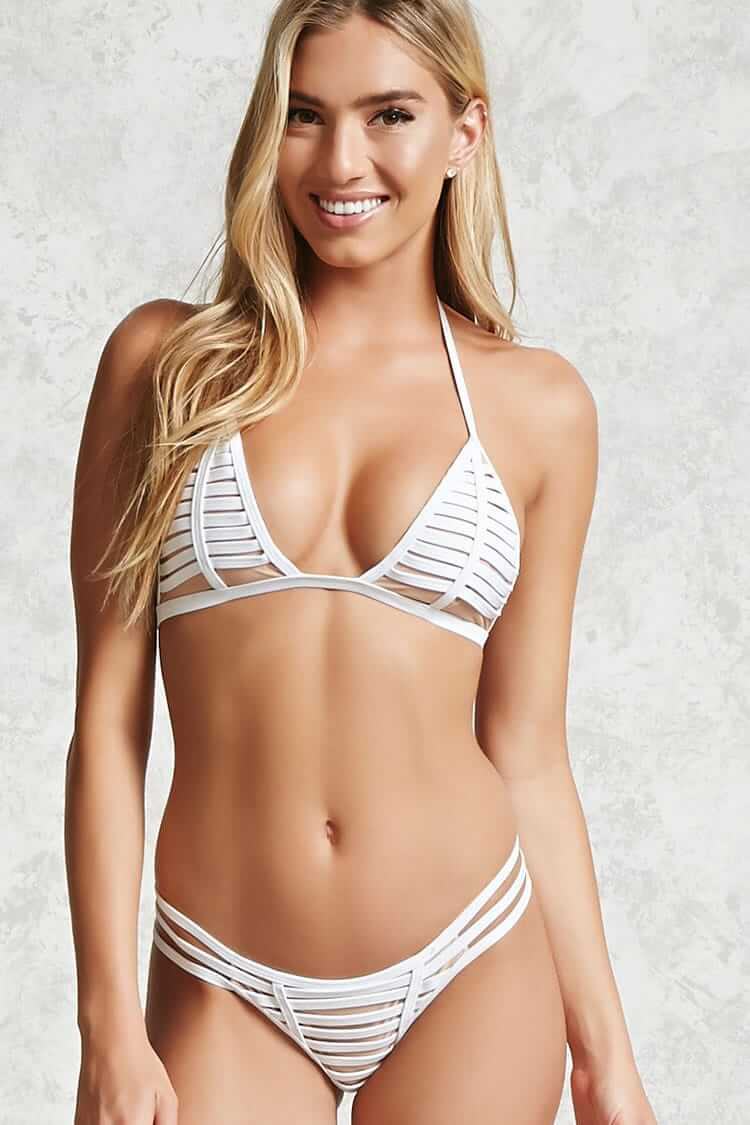 Ladder Cut-Out Bikini (latest bikini styles)