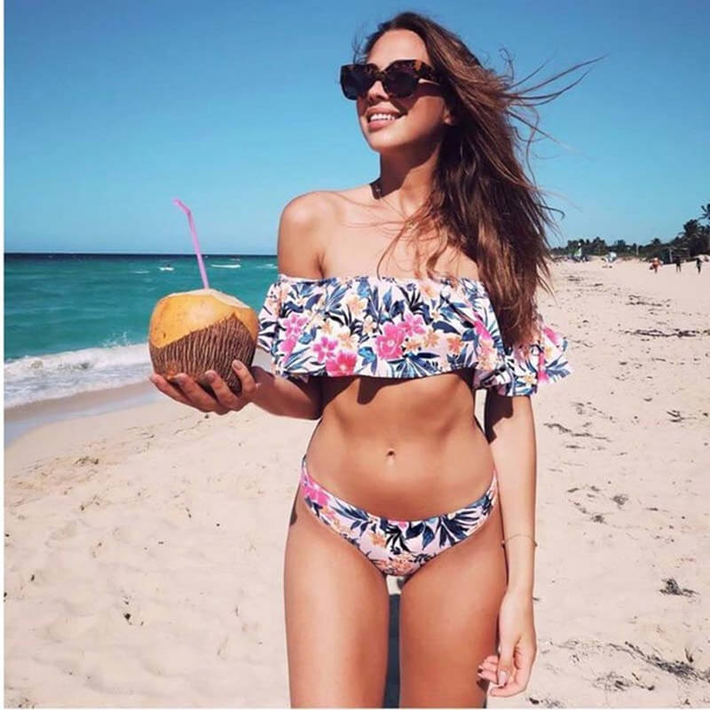 Off-The-Shoulder Bikini (latest bikini styles)