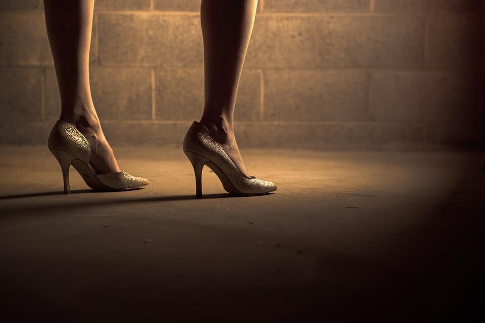 Heels to look taller