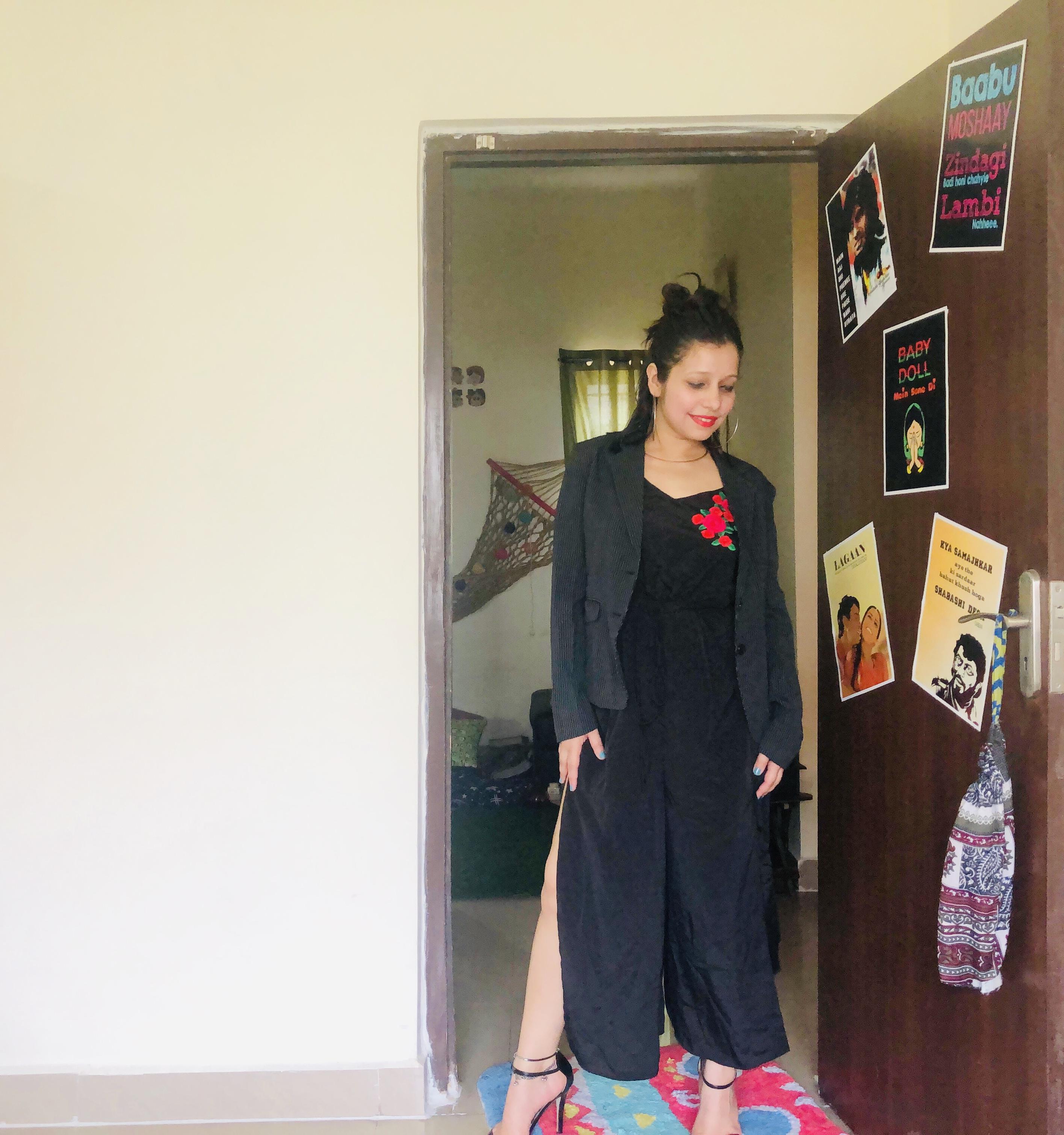 Modern look ( maxi dress)