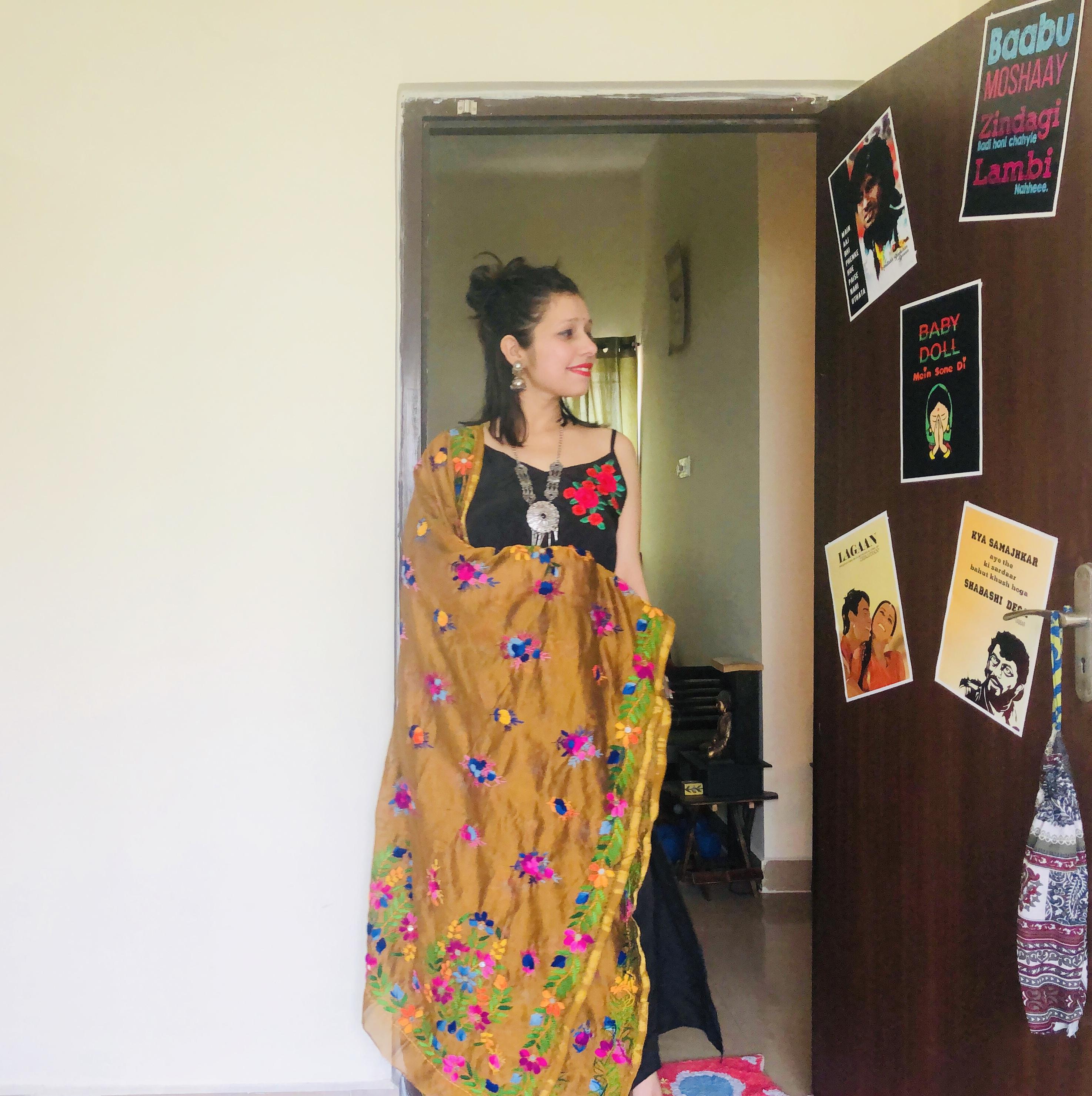 Ethnic look (maxi dress)